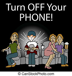 кино, человек, театр, грубый, texting