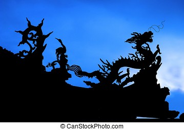 китайский, дракон