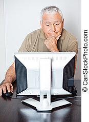 класс, вдумчивый, компьютер, с помощью, старшая, человек