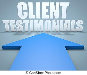 клиент, testimonials
