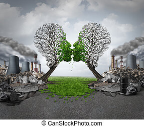 климат, восстановление