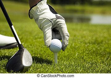 клуб, гольф