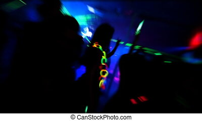 клуб, ночь