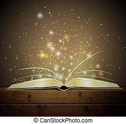 книга, магия