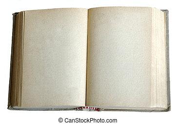 книга, старый