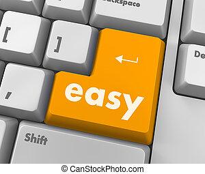кнопка, легко