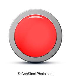 кнопка, чистый