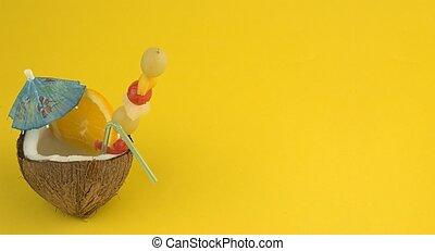кокос, напиток