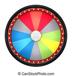 колесо, состояние, двенадцать, цвет