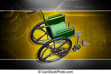 колесо, стул