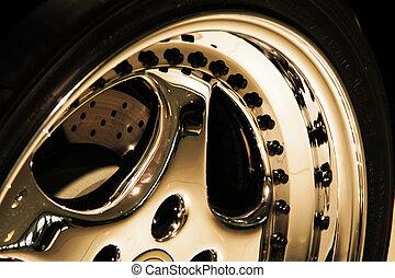 колесо, aluminium