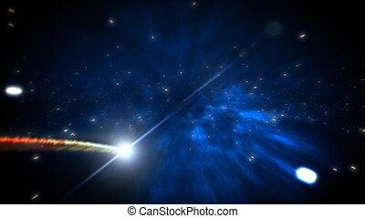 комета, петля