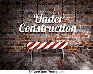 комната, под, строительство