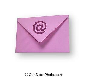 конверт, эл. адрес