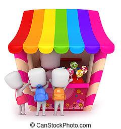 конфеты, магазин