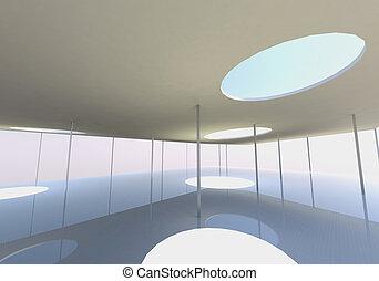концептуальный, архитектура