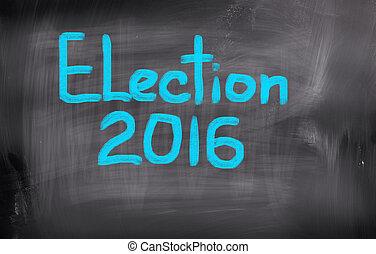 концепция, выборы