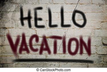 концепция, здравствуйте, отпуск