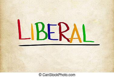 концепция, либеральный