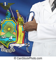 концепция, национальный, -, система, йорк, healthcare, новый