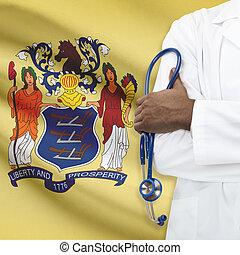 концепция, национальный, -, система, healthcare, новый, джерси