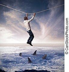 концепция, риск, бизнес