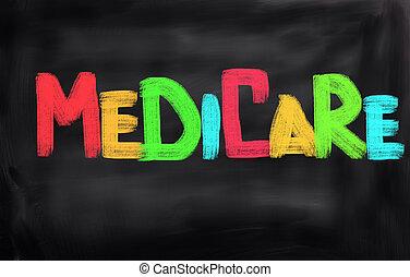 концепция, страхование здоровья по старости