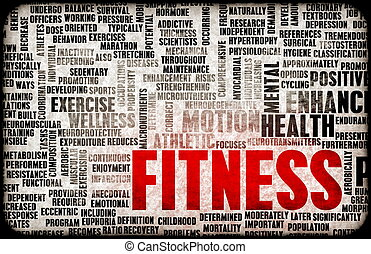 концепция, фитнес