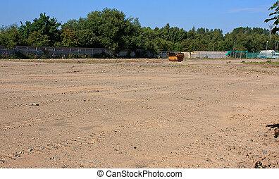 коричневый, сайт, поле