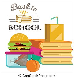 коробка, piles, плакат, обед, ужин, books, children