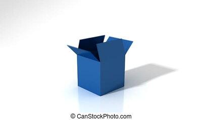 коробка, solution, вне