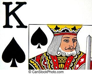 король, of, spades