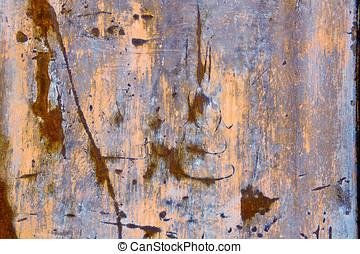 коррозией, weathered, металл, задний план, текстура