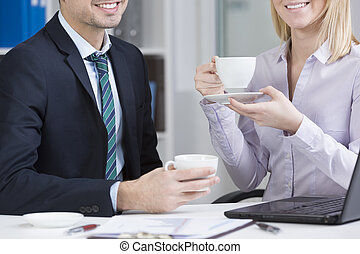 кофе, работа
