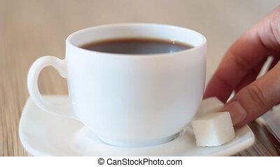 кофе, черный, кружка