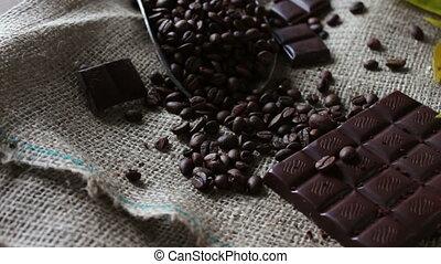 кофе, шоколад, grains, кружка