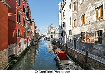красивая, венеция