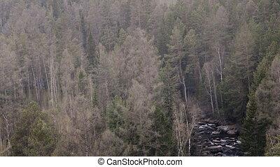 красивая, гора, весна, алтай, река, россия, mountains, посмотреть