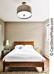 красивая, современное, чистый, спальня