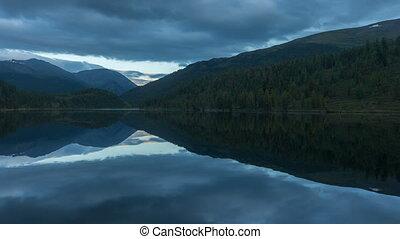 красивая, landscape., timelapse, siberia., алтай, нагорье, ...