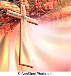 кристиан, пересекать