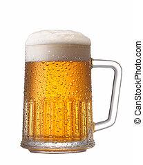 кружка, of, пиво