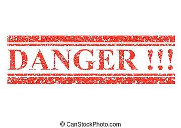 ластик, гранж, isolated, красный, опасность, вектор, белый, печать