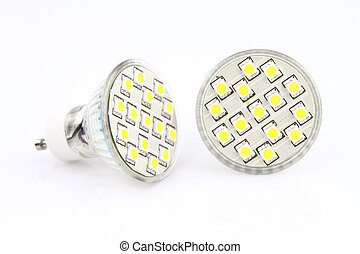 легкий, светодиод, bulbs