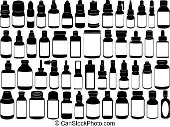 лекарственное средство, бутылка