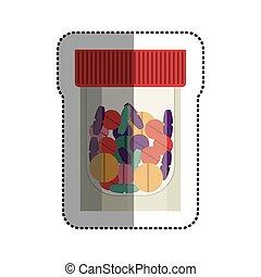 лекарственное средство, медицинская, дизайн, isolated, забота