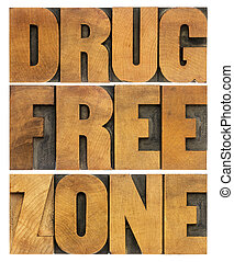 лекарственный, свободно, зона, в, дерево, тип