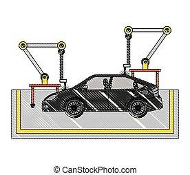 Роботизированный конвейер сборки автомобилей ишимбай элеваторы