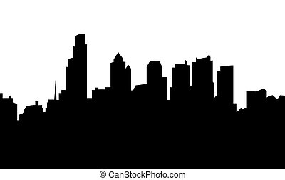 линия горизонта, филадельфия