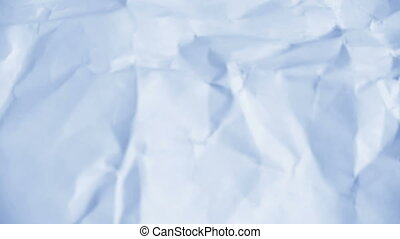 лист, paper., crumpled